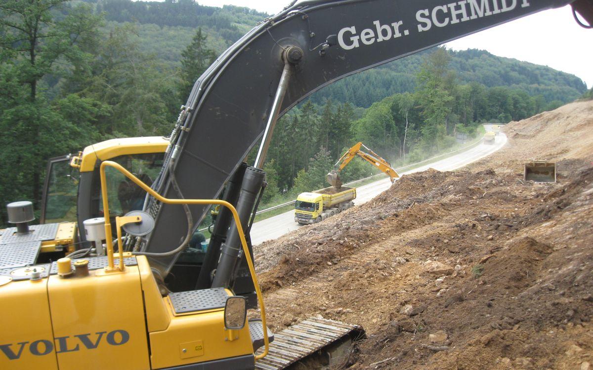 07bab5cc3f Baustellen / Referenzen - GEBRÜDER SCHMIDT BAUUNTERNEHMEN - Mit Kraft und  Dynamik an die Spitze